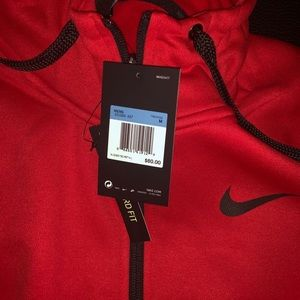 Red Nike dri-fit medium